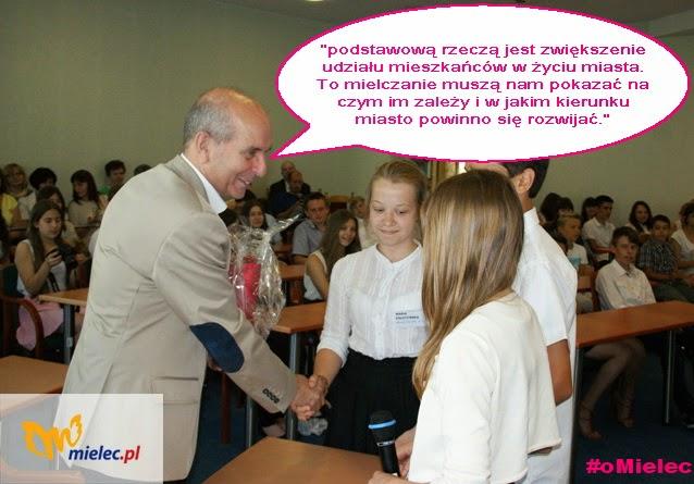 Janusz Chodorowski Prezydent Mielca