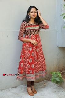 Telugu Actress Nikhila Vimal Latest Stills in Anarkali Dress  0201.JPG