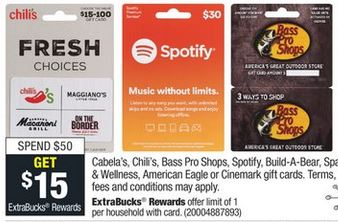 FREE $15 CVS Gift Card Deals 1124-1130