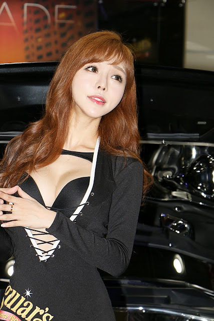 3 Seo Jin Ah - Seoul Auto Salon - very cute asian girl-girlcute4u.blogspot.com