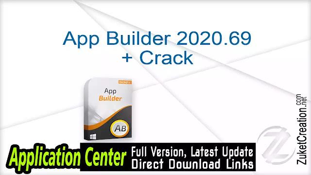 App Builder 2020.69 + Crack