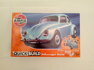 kit Volkswagen Beetle quickbuild Airfix
