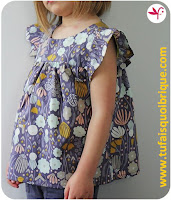 Rosamée blouse Citronille