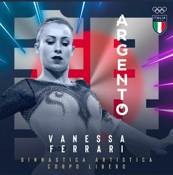 L'argento di Vanessa Ferrari, più forte di tutte le difficoltà