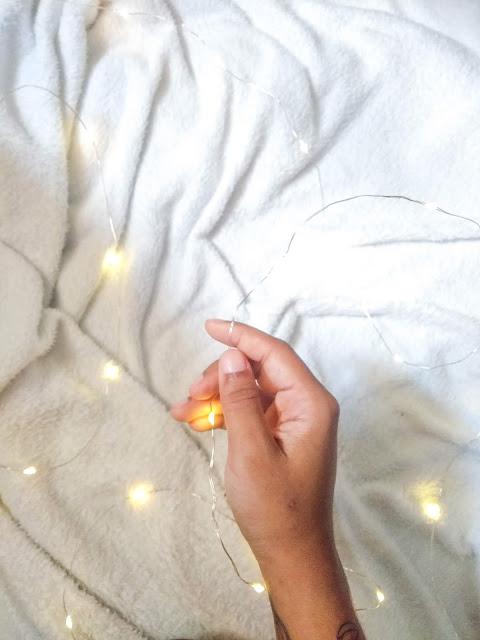 Luzes de fada com pilha - onde comprar