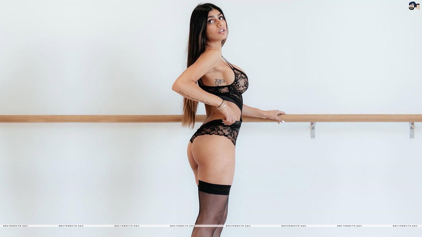 Mia Khalifa Latest Sexy Wallpaper