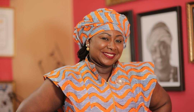Gifty Anti appointed president of Ghana Feminine Hall of Fame