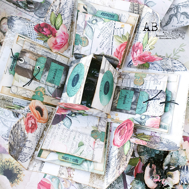 @nastyalena #photoalbum #papercraft #scrapbookingdies