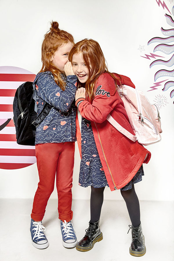 Camperas y abrigos moda otoño invierno 2018 niñas.