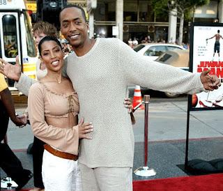 Yulanda Simon with her husband Miguel A Nunez Jr
