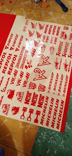 Custom Cutting Sticker, Logo, dan Label Usaha. | Tanjungbalai