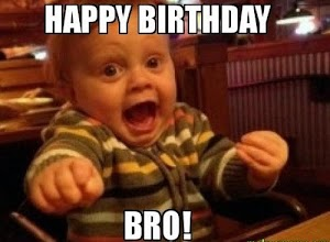 Happy Birthday Brother Funny Images