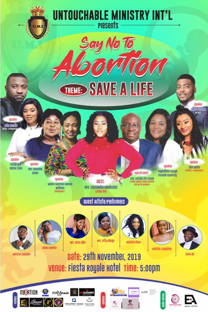 'Say no to Abortion' campaign kicks off November 29