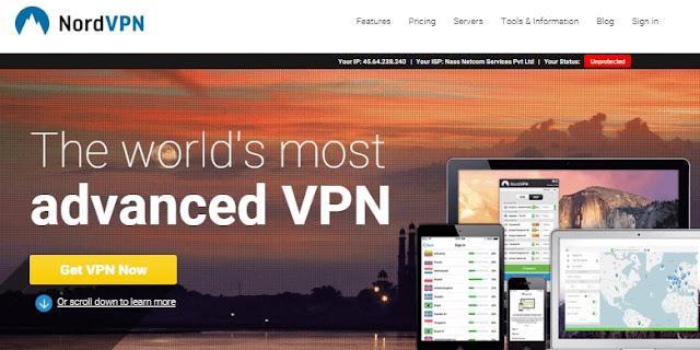 NordVPN – The Most Advanced VPN Service