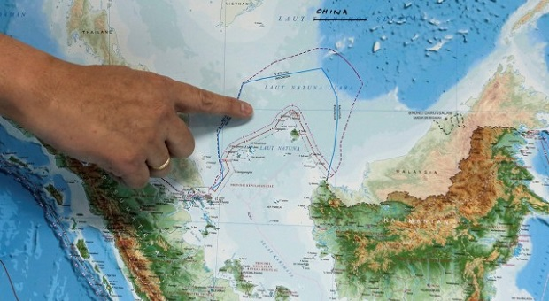 Tapal Batas Indonesia Menyusut di Natuna