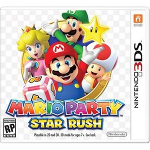 Rom Mario Party Star Rush 3DS