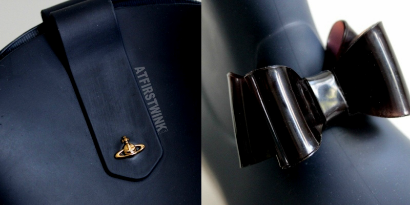 Vivienne Westwood Anglomania + Melissa protection II - blue/beige  details