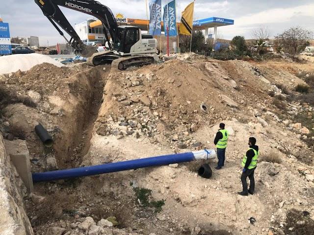 Bozova'da asbest borular değişiyor