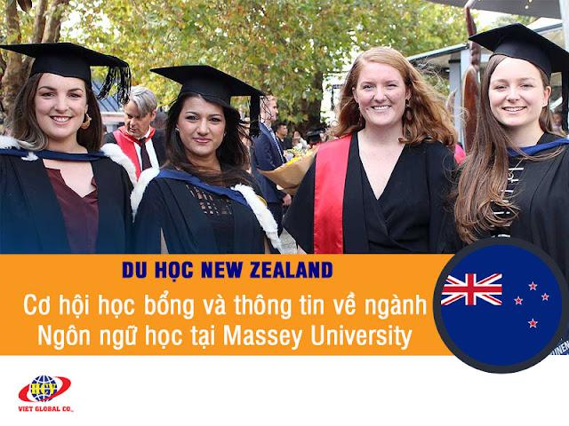 Du học New Zealand: Ngành Ngôn ngữ học & học bổng tại đại học Massey