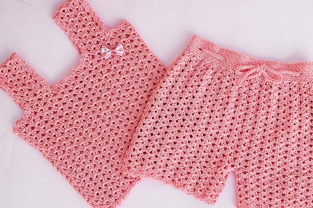 1 - Crochet Imagen Pantalón o short a crochet y ganchillo por Majovel Crochet
