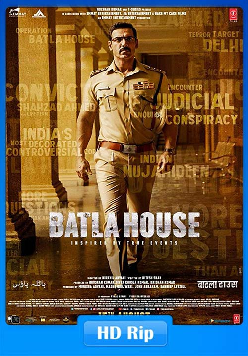 Batla House 2019 720p Hindi HDRip ESub x264 | 480p 300MB | 100MB HEVC