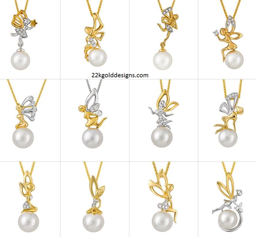 Joyalukkas archives page 2 of 4 22kgolddesigns joyalukkas simple pearl diamond pendants aloadofball Gallery