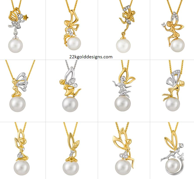 simple pearl diamond pendant ideas
