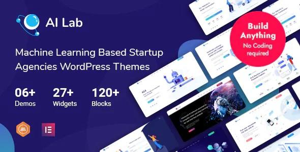 Best AI Lab Machine Learning WordPress Theme