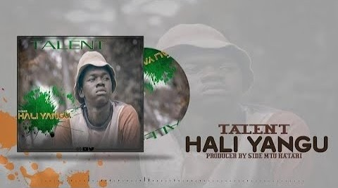NEW SINGEL MUSIC | Muddy Msanii - Hali Yangu | DOWNLOAD