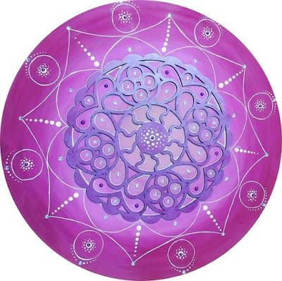 Mandala confeccionada por Arte Alimentando a Alma