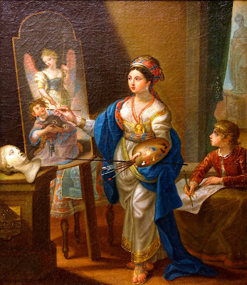 Self Portrait in Eastern Dress, Irene Parenti Duclos