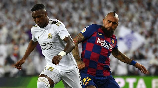 Real Madrid vs Barcelona Live Score