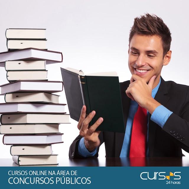 CURSOS ONLINE NA ÁREA DE CONCURSOS PÚBLICOS