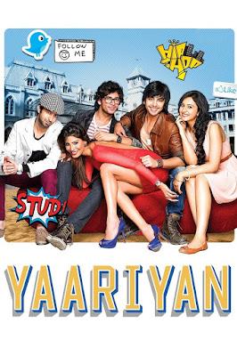 Yaariyan 2014 Hindi Movie 480p BluRay ESub 400MB