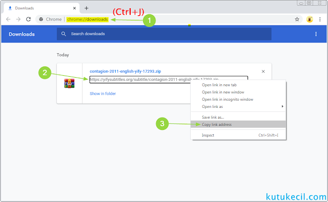cara download file yang diblokir chrome