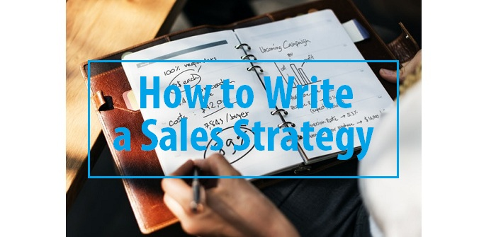 How to write a sales strategy