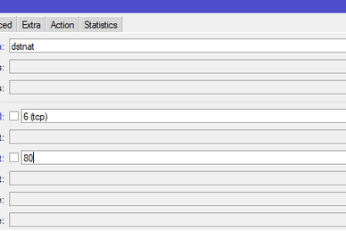 Konfigurasi Proxy di MikroTik