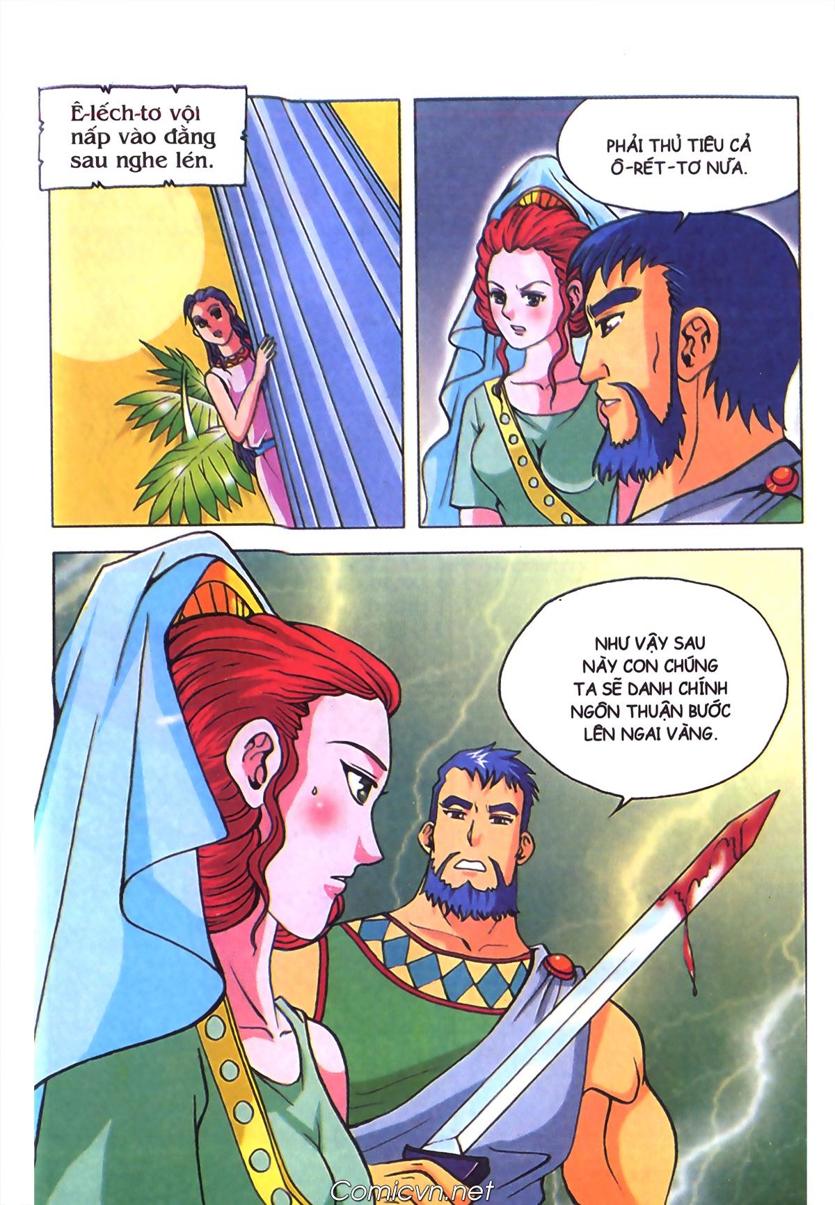 Thần Thoại Hy Lạp Màu - Chapter 70: Nàng Ê lếch tơ - Pic 18