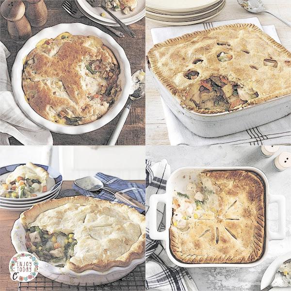 Chicken Biscuit Potpie 🥧, Chicken Deep Dish Potpie 🥧, Classic Chicken Potpie 🥧, Old-Fashioned Chicken Potpie 🥧