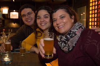 Organizadores IIIEEBB cervejaria - O III Encontro Europeu de Blogueiros Brasileiros em Berlim