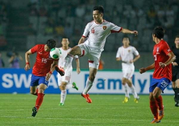 Korea Selatan vs China