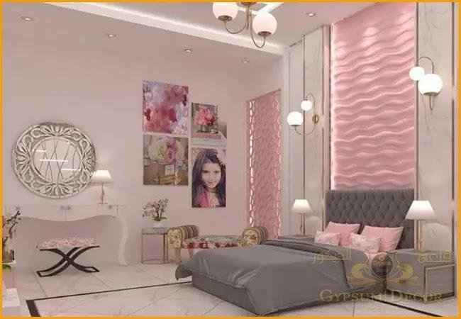 ديكورات غرف النوم للبنات
