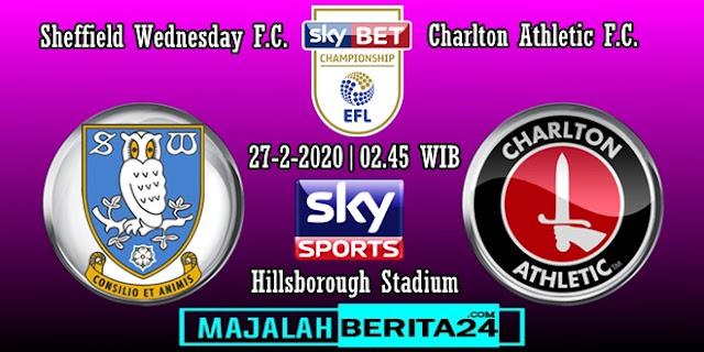 Prediksi Sheffield Wednesday vs Charlton Athletic