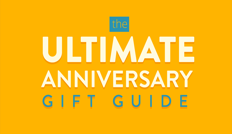 The Ultimate Anniversary Gift Guide #infographic
