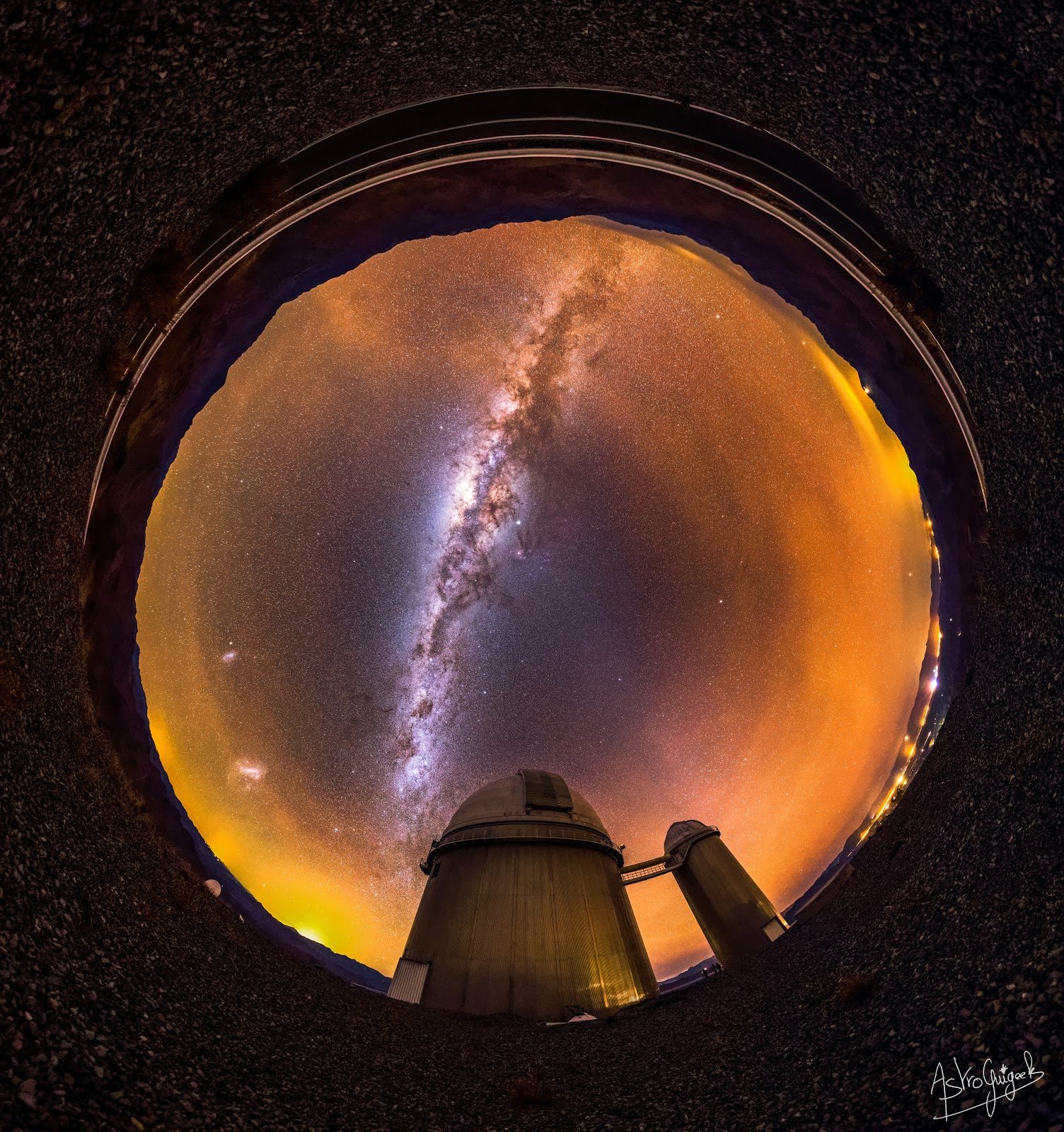 360° Panorama over La Silla Observatory - #MeetESO