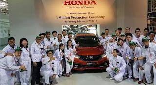 Info Lowongan Kerja Resmi PT. Honda Prospect Motor (PT HPM)