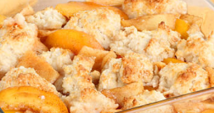 best peach cobbler with canned peaches