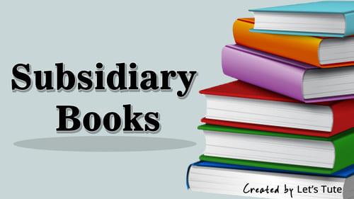 subsidiary books