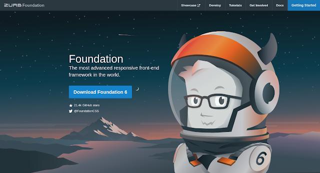 Foundation - Framework CSS Terbaik di Tahun 2021