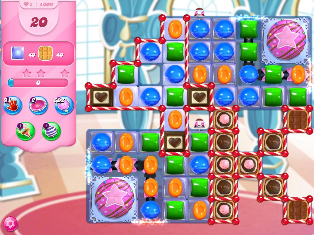 Candy Crush Saga level 4000